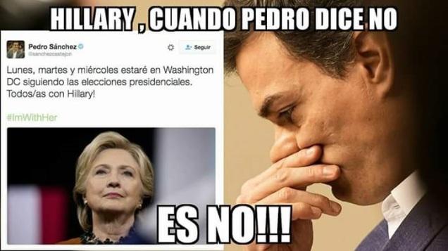Hilaria abofetearía a 'Pedroflauta' Sánchez por su apoyo, de haber sabido que era de la escuela de Zapatero.