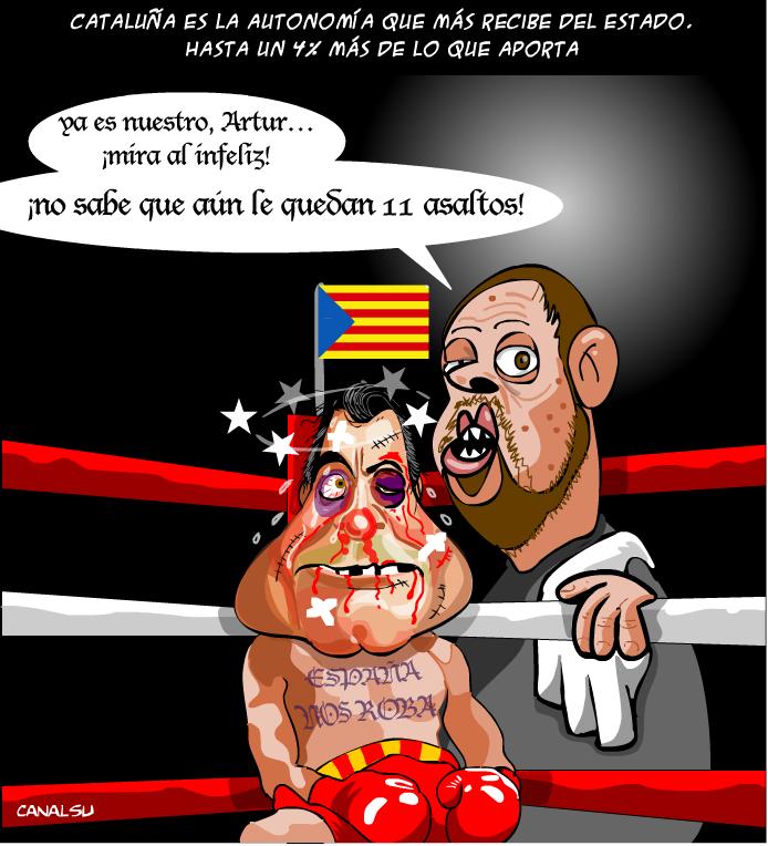 """El independentismo engaña a Arthur Mas. El principal culpable: """"¡Juntos por el 3%!"""""""