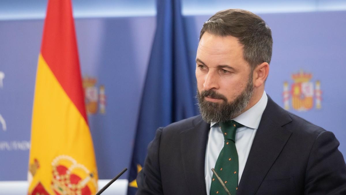 [VOX] Comparecencia de Santiago Abascal tras la reunión con SM el Rey Felipe VI Santiago-abascal-rdp-1